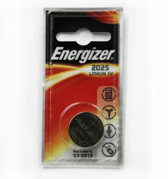 ENERGIZER CR 2025 литий - 1BL (10)(100)