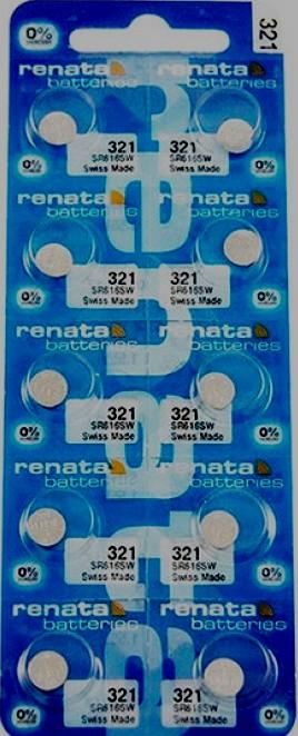 RENATA R321 10-BL SR616