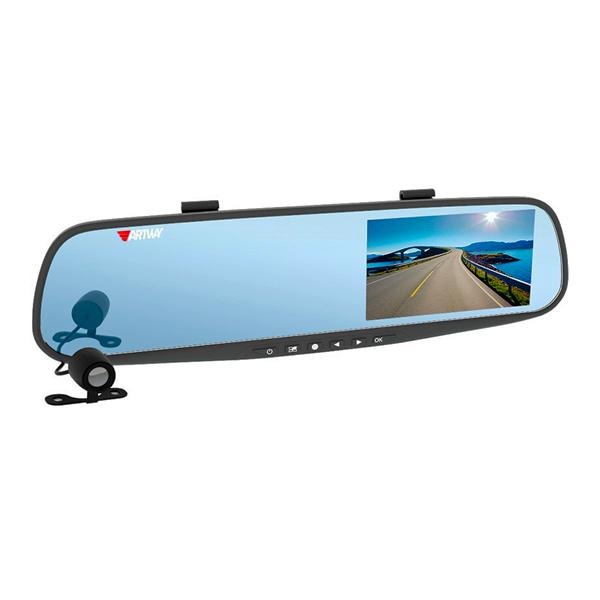Видеорегистратор Prestige AV-600HD зеркало с двумя
