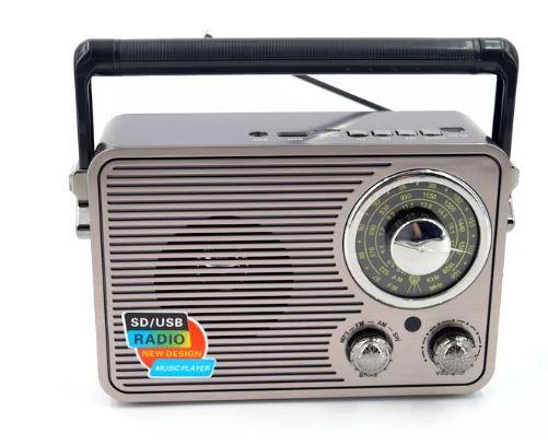 Радиоприемник KEMAI MD-1176BT +USB+SD+Bluetooth+аккумулятор