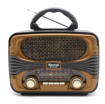 Радиоприемник KEMAI MD-1903BT +USB+SD+Bluetooth+аккумулятор