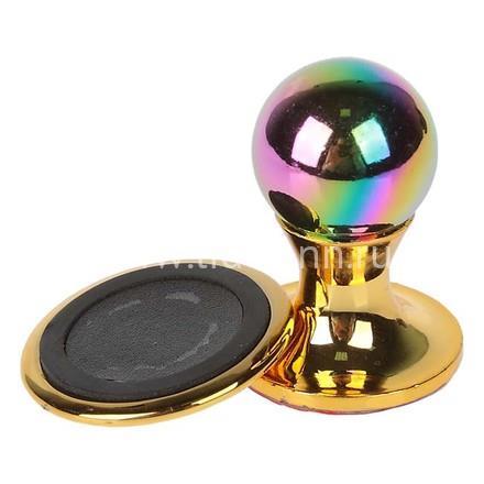 Держатель BRACKET магнитный на панель золото/серебро в блистере