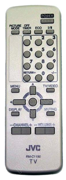 Пульт для телевизора JVC   RM-C1150