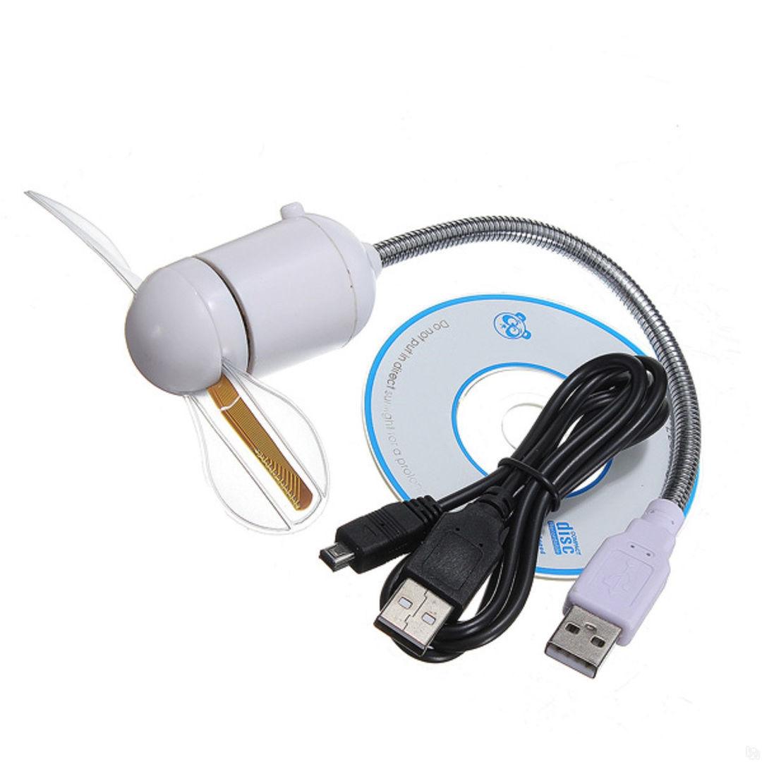 Вентилятор Орбита TD-232 (с прогр. надписью) USB