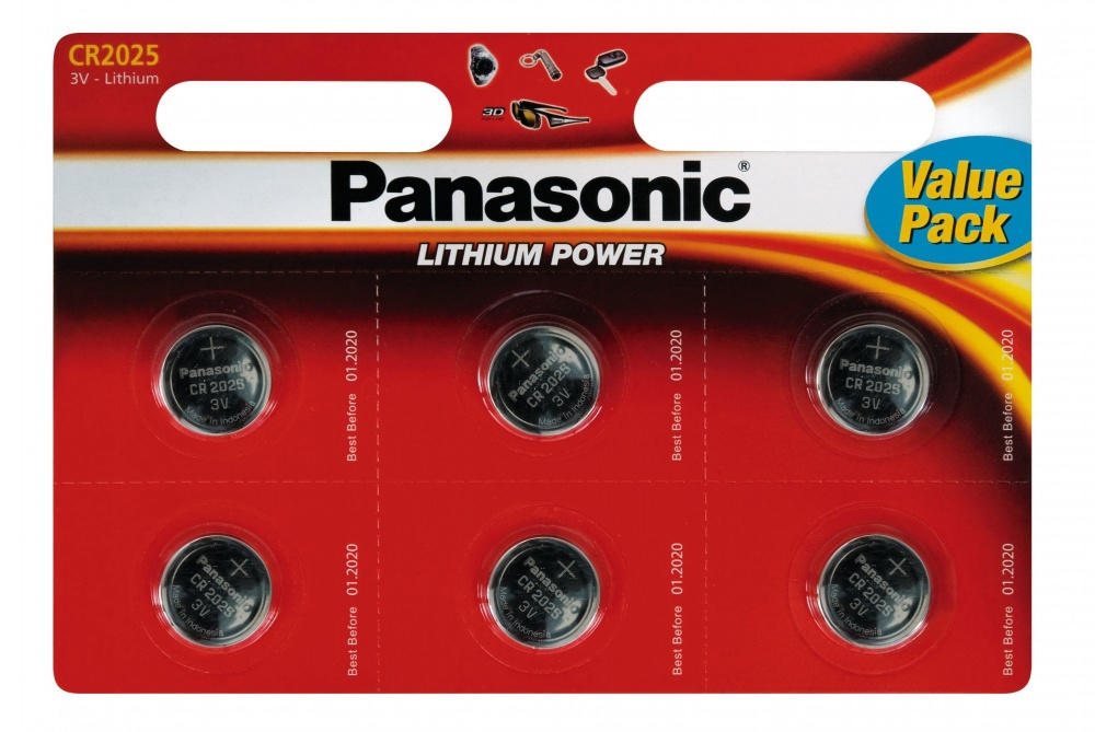 Panasonic Power Cell CR2025  B6