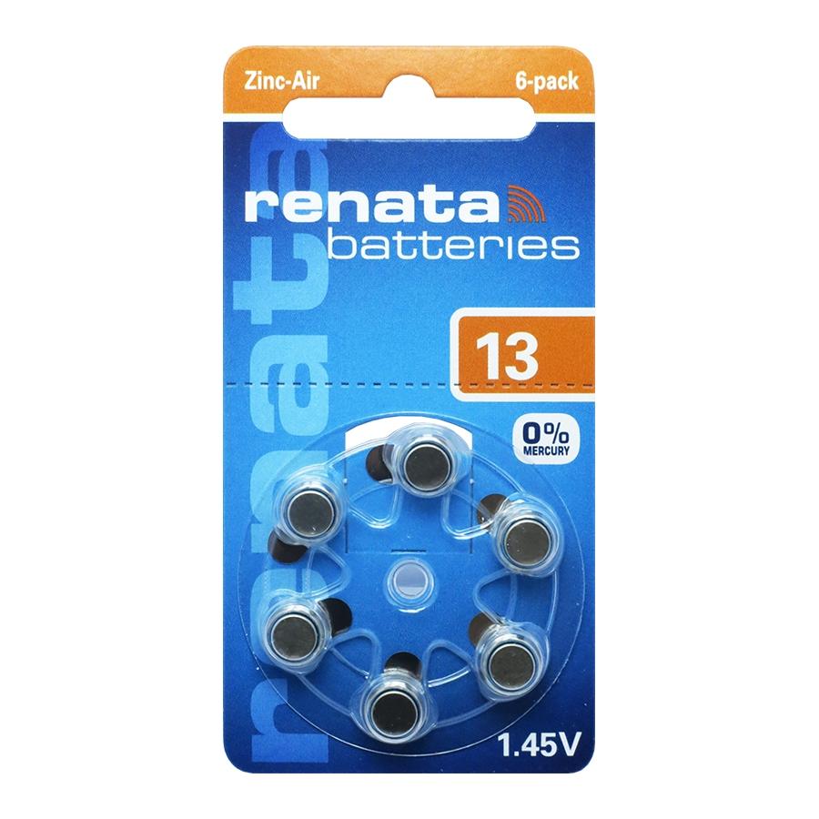 RENATA  ZA13 6BL 1.45V для слуховых аппаратов