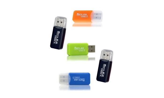 Картридер C12 micro SD/USB