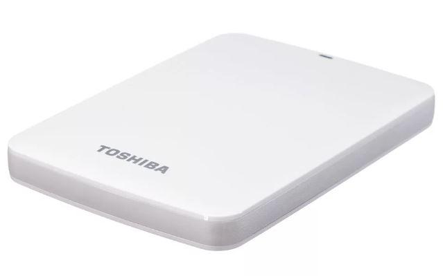 """ВЖД TOSHIBA HDD 1.0TB 2.5"""" STOR.E CANVIO READY WHITE USB 3.0"""
