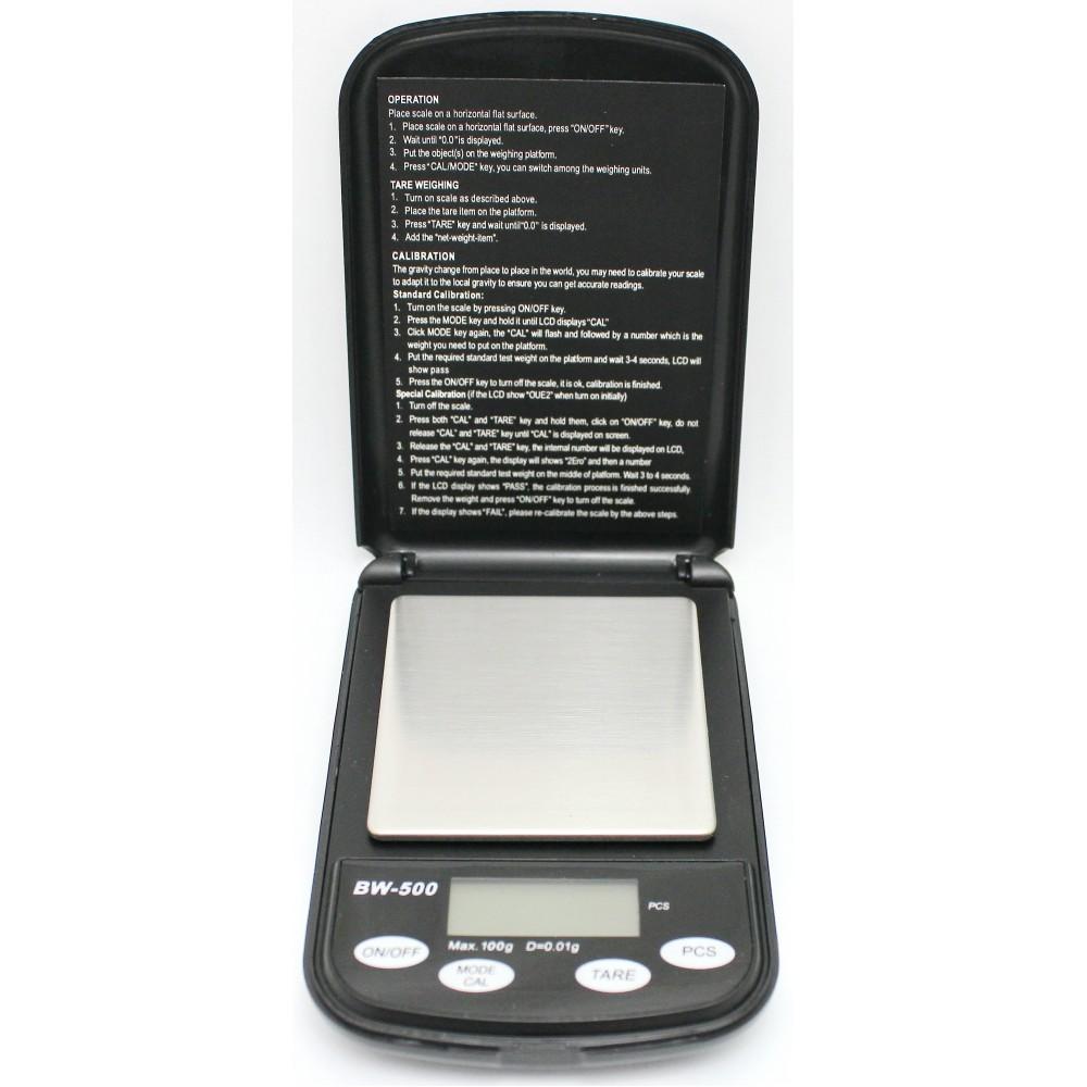 Весы портативные эл. TDS ML-A01 500гр точность 0,1гр