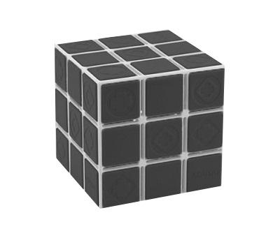 """Ароматизатор KOUOU гелевый куб """"Черный лед"""" (6x6)"""
