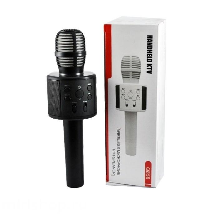 Микрофон караоке Hendheld KTW Q858 черный