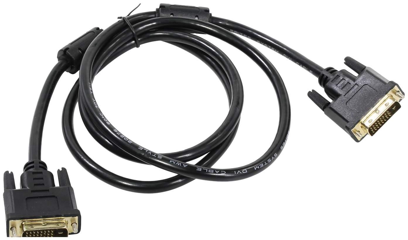 Кабель 5bites APC-096-015 DVI(M)-DVI(M) (24+1) 1.5м