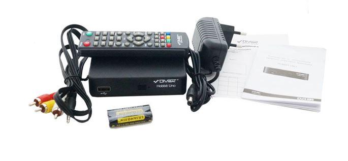 Цифровой эфирный приемник HOBBIT UNO  DVB-T2