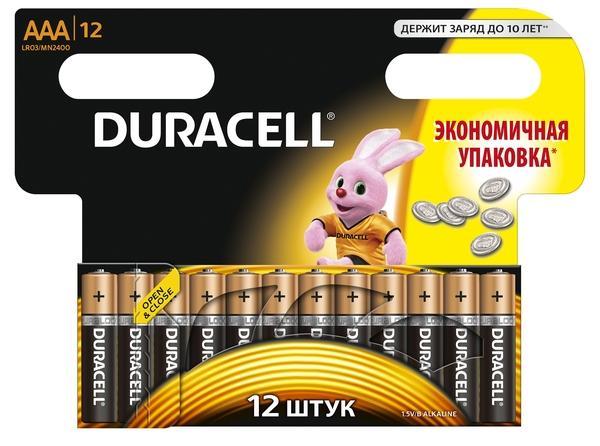 DURACELL LR 03 12BL  (144)