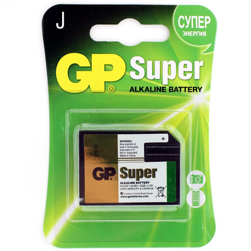 GP 1412AP 2CR1 4LR61 6V 1BL