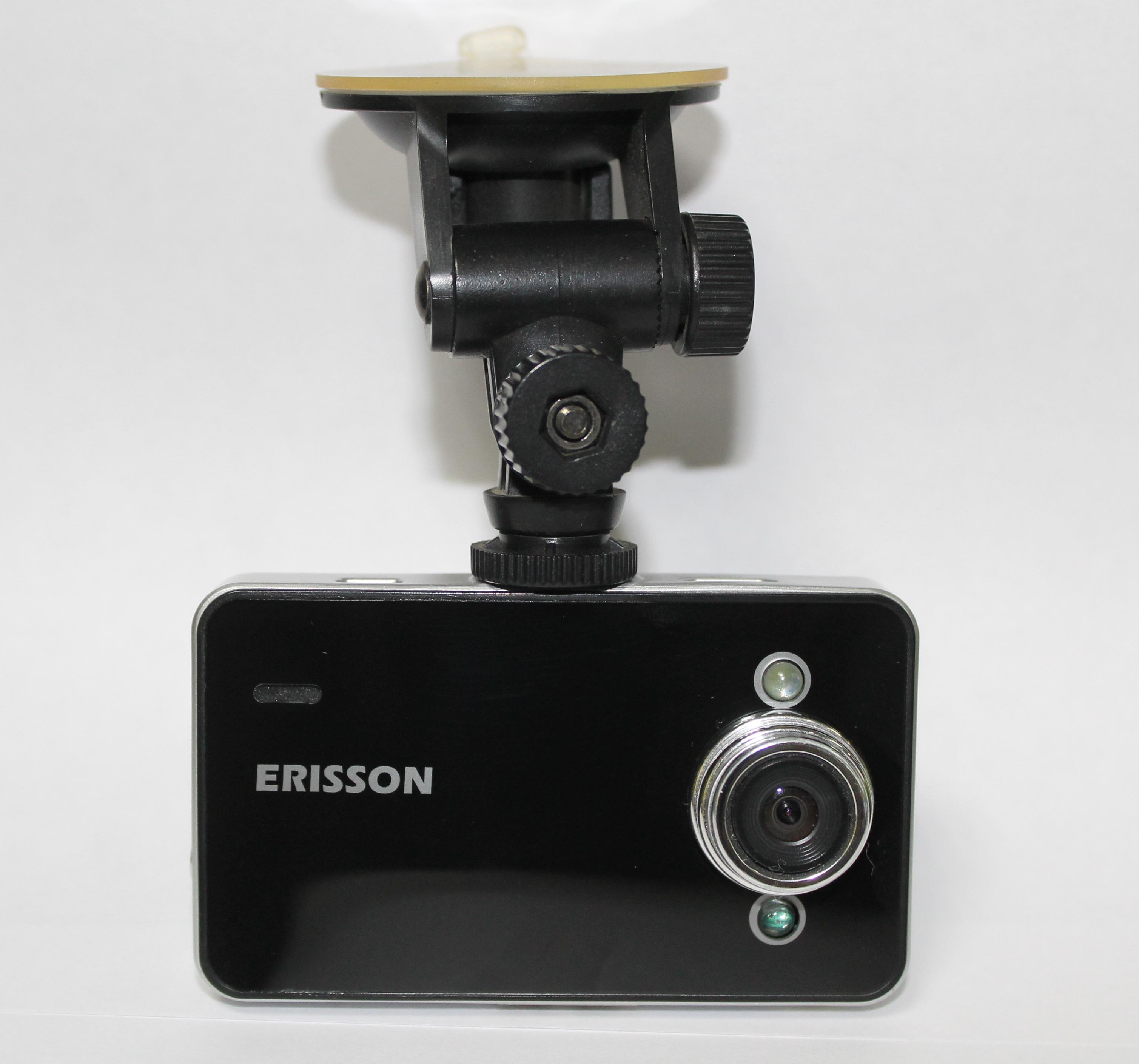 Видеорегистратор ERISSON VR-SF112,экран 1,5 HD качество,ночная съемка,датчик движения