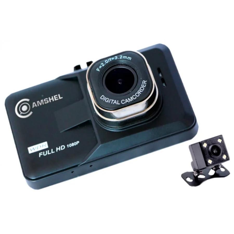 Видеорегистратор Camshel DVR 210 (+ камера заднего вида)
