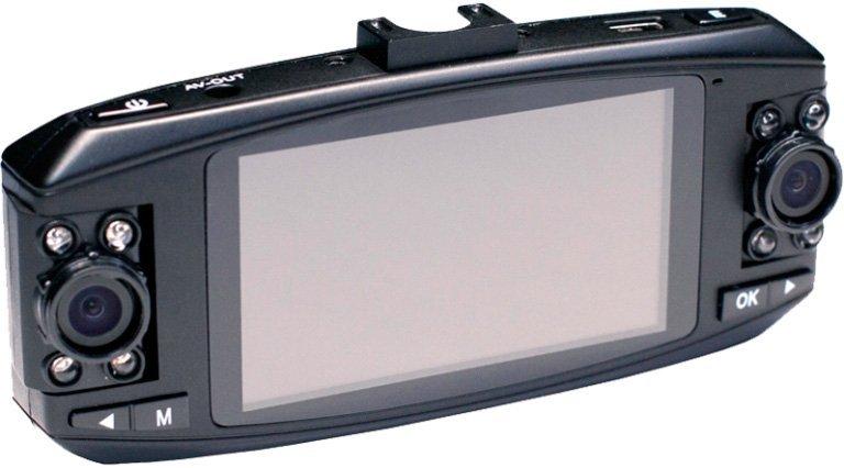 Видеорегистратор Camshel DVR 220 (две поворотные камеры)