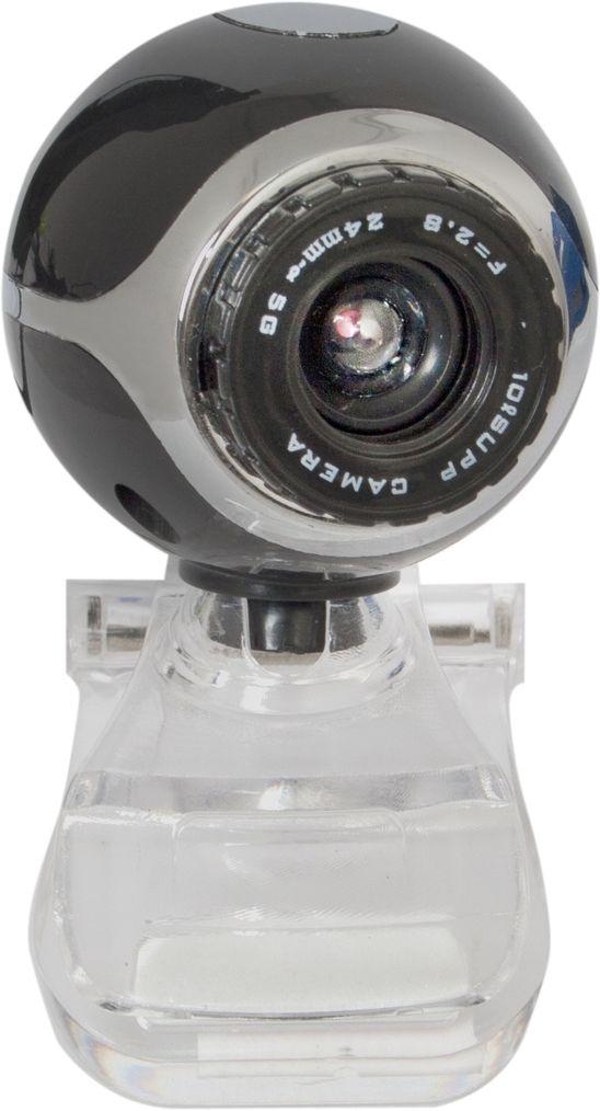 WEB-камера DEFENDER C-090 BLACK 0.3Мп универсальное крепление