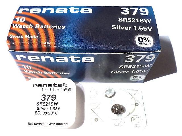 RENATA R379 1-BL SR521SW
