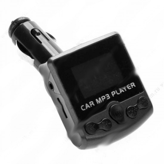 FM-модулятор ST852 USB/microSD/SD черный