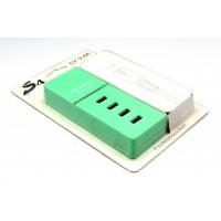 Портативная Зарядная станция ММ-17830-90 USB на 4 порта 1,2 м
